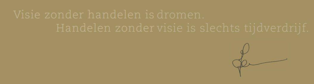 Jonald Bouwhuis - citaat visie